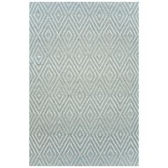 I pinned this Dash & Albert Diamond Indoor/Outdoor Rug in Blue from the Cindy Rinfret event at Joss and Main!