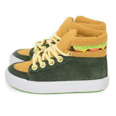 kids hamburger hi-tops 80 Euros SUPER CUTE french kids clothing site - boys clothes a bit more fun!