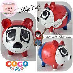 - Little Pigs Workshop Little Pigs, Batman, Piggy Banks, Workshop, Boys, Disney, Crafts, Villa, Ideas
