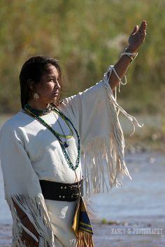 South Dakota Native American Artists | Native American Indian women worshiping the sun while standing in ...