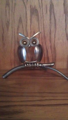 Owl by ItsASteel on Etsy, $70.00