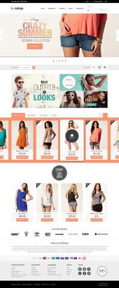 LookShop - E-commerce Responsive Design Template