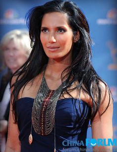 Padma Lakshmi - american indian model., NO no NO. from the country of INDIA.