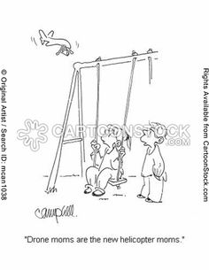 Helicopter Parents Cartoons and Comics Parenting Memes, Parenting Styles, Parenting Books, Gentle Parenting, Step Parenting, Helicopter Parent, Christian Parenting, Parents, Cartoons