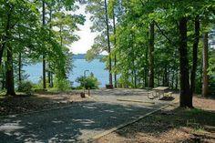 Baldin Lake @ Uwharrie National - camping, kayaking, biking & 4x4 in the Jeep!!
