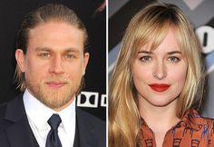 """For all the """"Fifty Shades"""" fans out there, meet your Christian (Charlie Hunnam) and Anastasia (Dakota Johnson)!"""