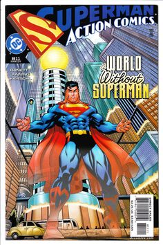 from $3.0 - Action #Comics #811 Nm 2004 A World Without Superman Ed Mcguinness Cover Dc #Comic