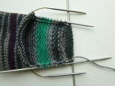 Basic 8ply (DK) boot socks - free pattern and tutorial – Winwick Mum Knitting Help, Sock Knitting, Double Knitting, Knitting Patterns Uk, Knitted Socks Free Pattern, Knitted Slippers, Knitted Hats, Sheer Number, Patterned Socks