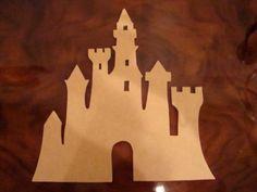 Unfinished Castle Mdf Wood Mosaic Base/Craft Shape Or by zzbob, $10.50