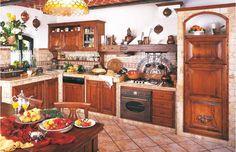 Cucine in muratura | Fonte del rustico | My house | Pinterest ...