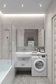 Trendy Bath Room Layout Ideas With Laundry Kitchens Bathroom Linen Cabinet, Bathroom Vanity Decor, Mold In Bathroom, Laundry Room Bathroom, Steam Showers Bathroom, Bathroom Photos, Tiny House Bathroom, Bathroom Toilets, Bathroom Design Small