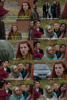 Imara gave Hartington a file of all the Wolfbloods in the U.K. | Wolfblood Season 5 Episode 2