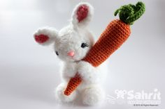 PATTERN Instant Download O-SO-CUTE Bubbles the Fluffy Bunny Easter Crochet Amigurumi Rabbit by Sahrit on Etsy https://www.etsy.com/listing/225626742/pattern-instant-download-o-so-cute