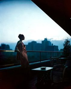 MoMA Rooftop Terrace, picture from the series Vogue Archive Collection by Constantin Joffe, artist of category FINE WORKS at photo art editions LUMAS