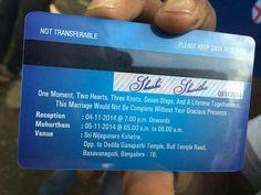 Atm card design wedding invitation chatterzoom 25 creative and unusual wedding invitation card design ideas stopboris Choice Image