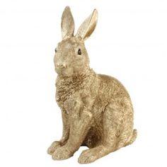Gouden spaarpot rabbit van &Klevering