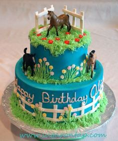 Olivia's Horse cake