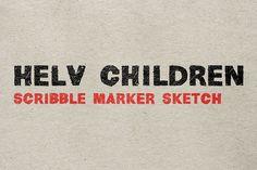 Helv Children by Matthias Guggisberg in 24 Fresh Fonts for Web Designers