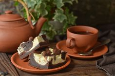 Łtwe ciasto czekoladowe z serem Pudding, Desserts, Blog, Tailgate Desserts, Deserts, Custard Pudding, Puddings, Postres, Blogging