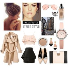 """time to work 2"" by jessicadhy on Polyvore"