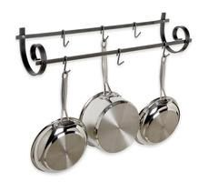 Enclume Hammered Steel Decor Utensil Rack from MetroKitchen.com