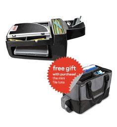Need your office on the go? Our best selling Express Car Desk now comes with a Free Mini File Tote! #giftwithpurchase $140