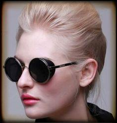 Sonnenbrillen - Coole Sonnenbrille mit UV-Schutz, 70er Retro Style - ein Designerstück von Vintage-Manufaktur-Berlin bei DaWanda