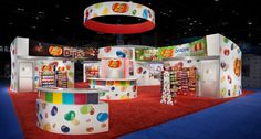 Colorful & fun ... who can resist a booth like this?