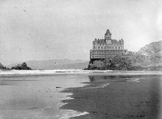 Item I-67956 - Cliff House, San Francisco Cliff House San Francisco, British Columbia, Archive, History, Digital, Architecture, Pictures, Arquitetura, Historia
