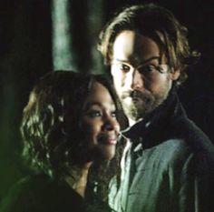 Tom Mison  & Nicole Beharie Sleepy Hollow Thursdays Fox Missed it ? Watch it now FoxNow or Hulu  #SleepyHollow