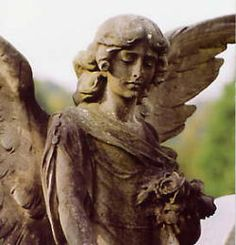 """(Arnos Vale Cemetery) ~She told me that if I ever needed to stay the night in a cemetery to ask the Angel for permission to stay. """"The one that has no one to guard,"""" she would rasp in her old voice. """"The one that watches everyone else, not the dead.""""~"""