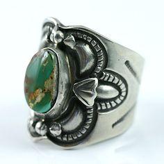 native american jewelry | Native American Jewelry Fox Turquoise Ring 10 5 | eBay