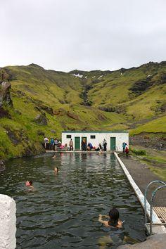 Seljavallalaug Pool in Iceland
