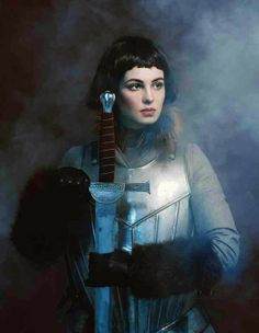 "The Look: Joan of Arc - ""Aut cum scuto, aut in scuto"" by Andrey Yakovlev and Lili Aleeva."