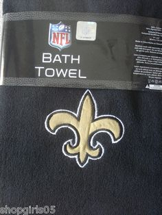 Saints Bathroom On Pinterest New Orleans Saints Nfl And Shower Curtain Rings