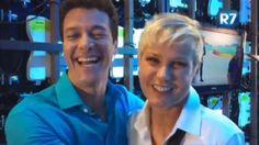 Xuxa Faro e Rodrigo Meneghel? Dupla grava chamada de novo programa na Record - Vídeos - R7