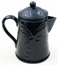 Americanoutfitter Kaldun and Bogle Blue Bandana Coffee Pot  Unique Gift For Birthday Christmas Wedding Anniversary Engagement Graduation Couples Men Women Mom Dad Grandpa Sister Wife Husband Friends *** This is an Amazon Affiliate link. To view further for this item, visit the image link.