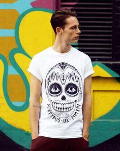 Dawn of the Dead T-Shirt | Independent Streetwear Clothing – Platypus Original Design by Maxine Abbott #independent #sugar #skull #unisex #clothing #style #urbanwear #design #screenprint #streetwear #graphic #t-shirt