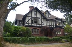 A stately Tudor-style home in Seattle's Capitol Hill.
