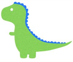 cartoon dinosaur silhouettes would look cute on a onesie.