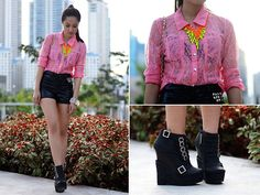 Leather, Neons and Studs (BMS) (by Laureen Uy)