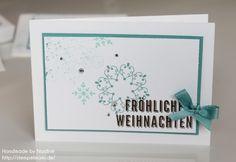 Weihnachtskarte Stampin Up Christmas Card Stempelset Winterwerk 032