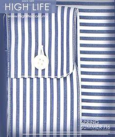 Una camisa a rayas es la ideal para el trabajo, ya que refleja astucia y perserverancia. #Canali