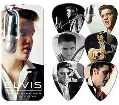 1956 Elvis Presley Wethheimer Collection Guitar Picks Tin includes 6 medium…