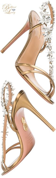 Brilliant Luxury ♦ Aquazzura Chateau sandal