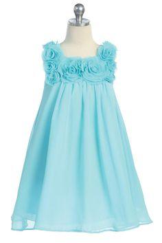 the girls' Easter dress
