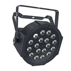 LaluceNatz+18LED+Par+Lights+for+Stage+Lighting+with+RGB+Magic+Effect+by+Remote+Control+and+DMX512