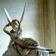 """Canova's """"Psyche and Cupid""""    From """"The best art kisses of all time:"""" http://www.jsonline.com/blogs/entertainment/115751019.html"""