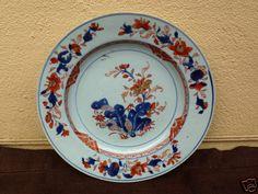 First of three 18th century Kangxi Period Chinese Imari Porcelain Plate   eBay