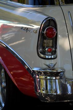 .!956 Chevy................. Behind that Tail Light is the Gas Tank.....Cool
